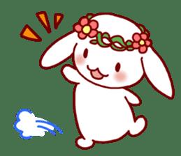 Every day rabbit sticker #4886616