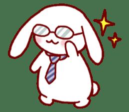 Every day rabbit sticker #4886620