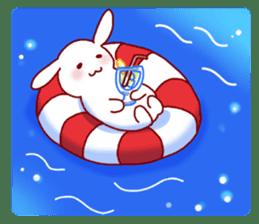 Every day rabbit sticker #4886623