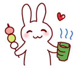 Every day rabbit sticker #4886627
