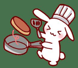 Every day rabbit sticker #4886630