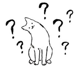 Black-and-white dogs sticker #4887367