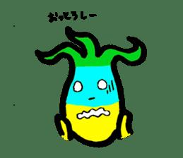 Tulip character(Toyama Tonami dialect) sticker #4889483