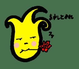 Tulip character(Toyama Tonami dialect) sticker #4889488