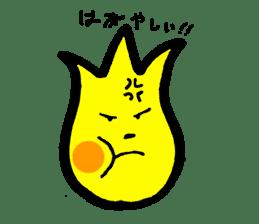 Tulip character(Toyama Tonami dialect) sticker #4889489