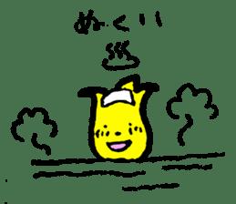 Tulip character(Toyama Tonami dialect) sticker #4889499