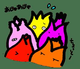 Tulip character(Toyama Tonami dialect) sticker #4889507