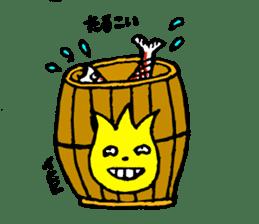 Tulip character(Toyama Tonami dialect) sticker #4889510