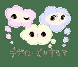 eyelashesdesigner sticker sticker #4892633