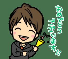 Nobunaga Shimazaki's everyday sticker #4892757