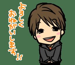 Nobunaga Shimazaki's everyday sticker #4892759