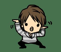 Nobunaga Shimazaki's everyday sticker #4892778