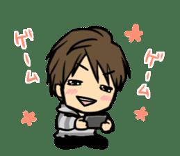 Nobunaga Shimazaki's everyday sticker #4892783