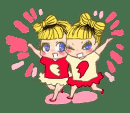 Harajuku Kawaii Girls sticker #4893115