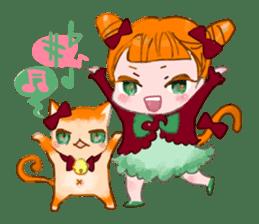 Harajuku Kawaii Girls sticker #4893120