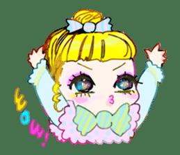 Harajuku Kawaii Girls sticker #4893137