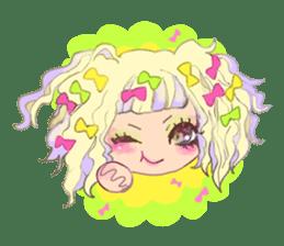 Harajuku Kawaii Girls sticker #4893140