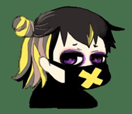 Harajuku Kawaii Girls sticker #4893146