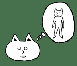 Fatty cat! sticker #4893361