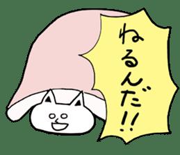 Fatty cat! sticker #4893370