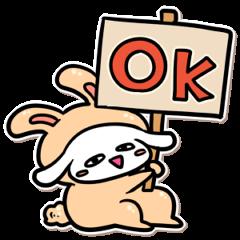 USAGURUMI sticker