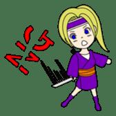 Kawaii Kunoichi sticker #4894176