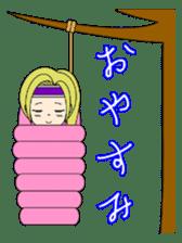 Kawaii Kunoichi sticker #4894180