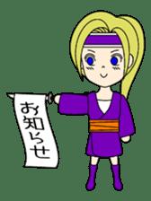 Kawaii Kunoichi sticker #4894181