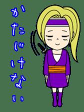 Kawaii Kunoichi sticker #4894183