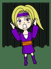 Kawaii Kunoichi sticker #4894184