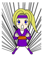 Kawaii Kunoichi sticker #4894200