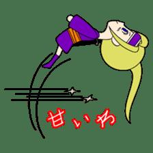 Kawaii Kunoichi sticker #4894210