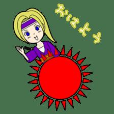Kawaii Kunoichi sticker #4894211