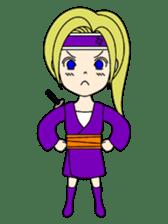 Kawaii Kunoichi sticker #4894213