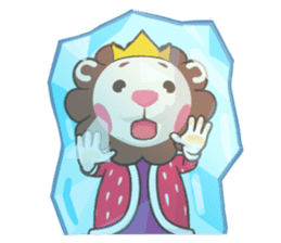 Azirian King sticker #4899329