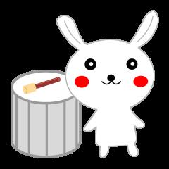 Percussion rabbit