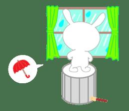 Percussion rabbit sticker #4907587