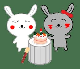 Percussion rabbit sticker #4907591