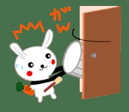 Percussion rabbit sticker #4907601