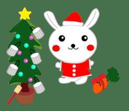 Percussion rabbit sticker #4907609