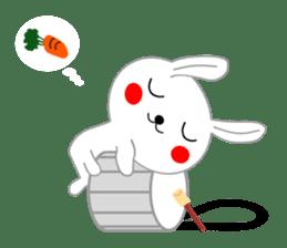 Percussion rabbit sticker #4907611