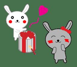 Percussion rabbit sticker #4907616