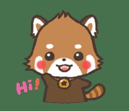 mild-Lesser-panda sticker #4908384