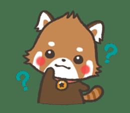 mild-Lesser-panda sticker #4908385