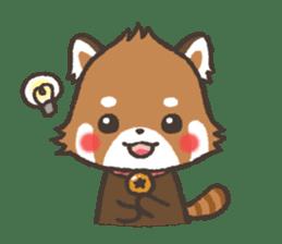 mild-Lesser-panda sticker #4908386