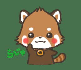 mild-Lesser-panda sticker #4908387