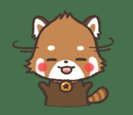 mild-Lesser-panda sticker #4908389