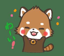 mild-Lesser-panda sticker #4908390