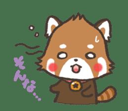 mild-Lesser-panda sticker #4908391