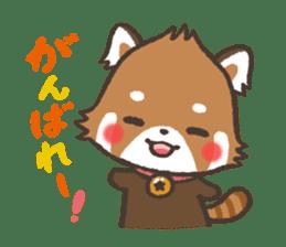 mild-Lesser-panda sticker #4908392